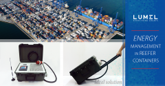 Energy monitoring in reefer containers at container ports